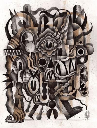 Niark1 Sebastien Feraut, 'Monster Walk', 2018