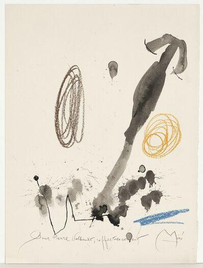 Joan Miró, 'Quelques Fleurs #32: Volboudt', 1964