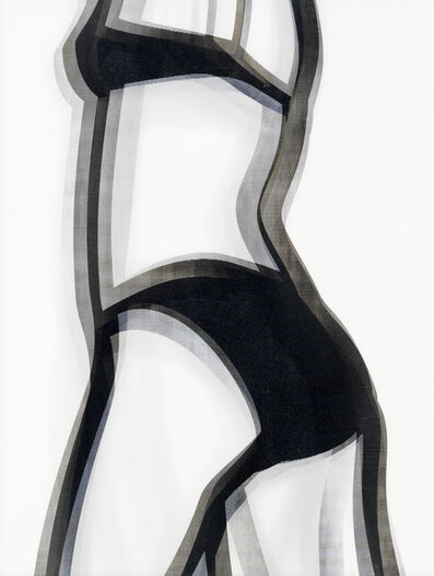 Julian Opie, 'Suzanne Walking (back)', 2006