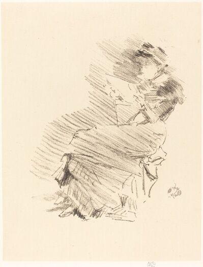 James Abbott McNeill Whistler, 'Reading', 1879