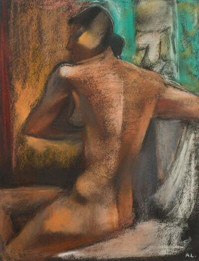 """André Lhote, 'Original Pastel """"Woman"""" by Andre Lhote', 1940s"""