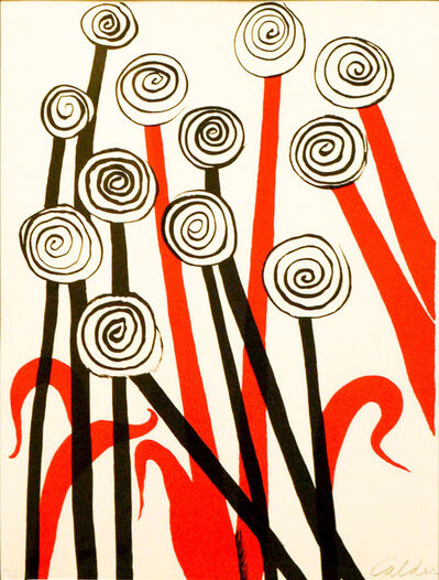 Alexander Calder, 'Les Fleurs'