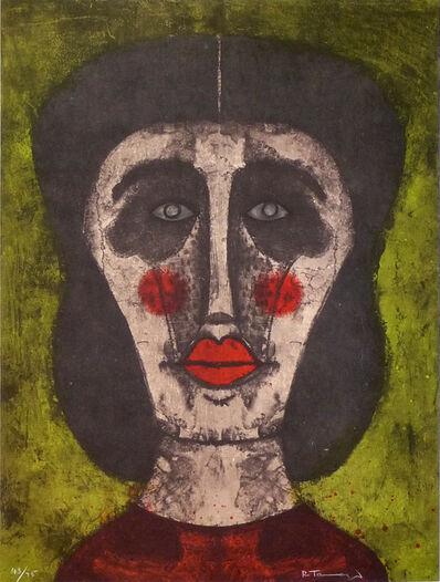 Rufino Tamayo, 'Cabeza de Mujer', 1973