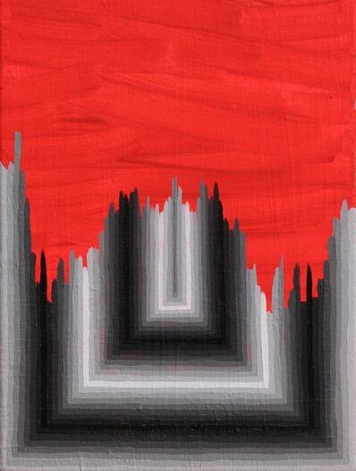 Andrew Schoultz, 'Broken Formality (Grey)', 2014