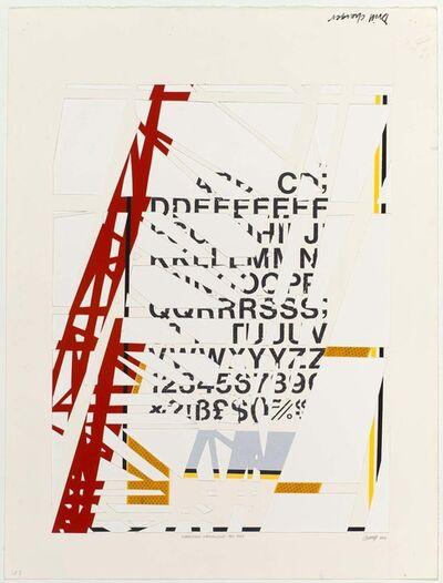 Stephen Hobbs, 'Information Infrastructure (red)', 2013