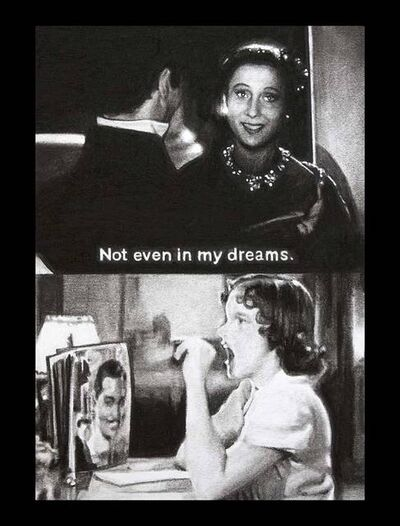 Nina Mae Fowler, 'Not Even in My Dreams (Dear Mr Gable)', 2014