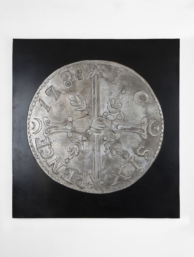 Erin Morrison, 'Chalmers Sixpence (Silver)', 2019