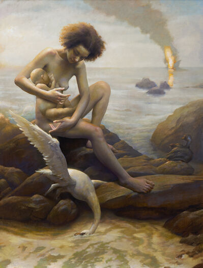 Adam Miller, 'Leda in the Gulf'
