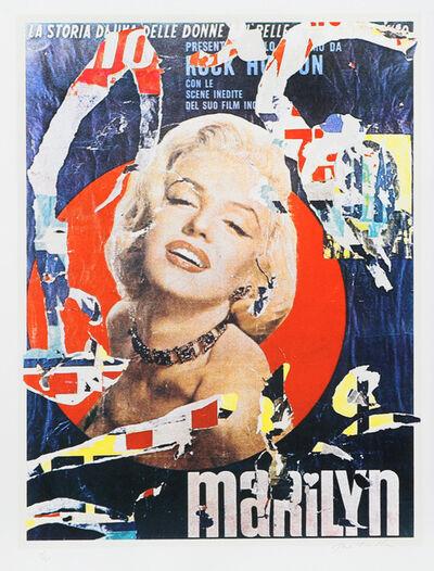 Mimmo Rotella, 'Marilyn 3', 1979