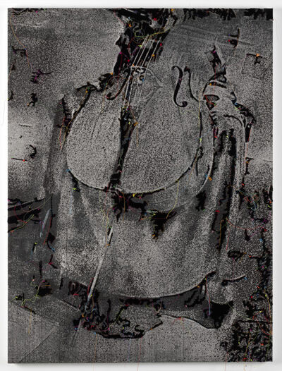 Berend Strik, 'Deciphering the artist's mind:...(studio FMU)', 2018