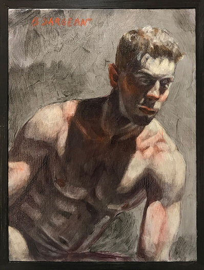 Mark Beard, '[Bruce Sargeant (1898-1938)] Seated Nude', n.d.