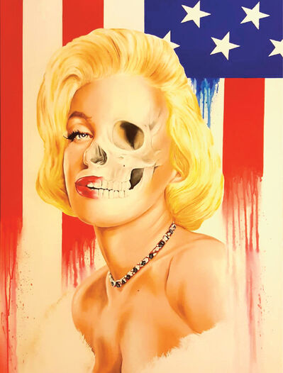 "James ""Sexer"" Rodriguez, 'Patriotic Marilyn', 2017"