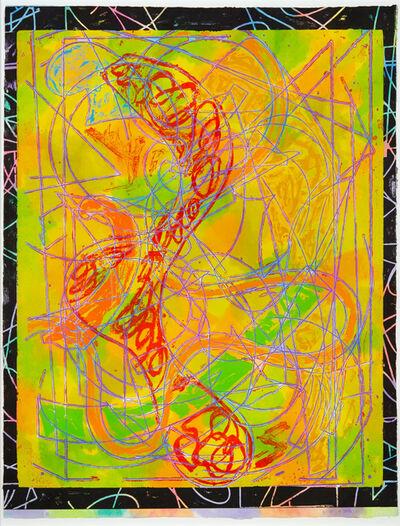 Frank Stella, 'Estoril Five I', 1982