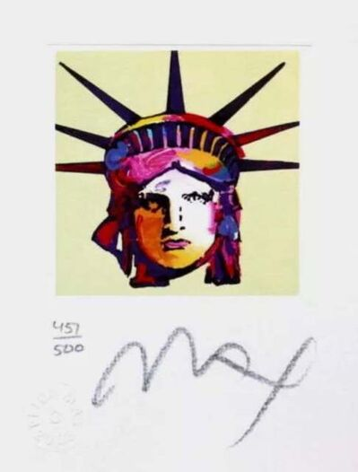 Peter Max, 'Liberty Head IX', 2003