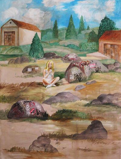 Noah Becker, 'Figure in a Landscape', 2020