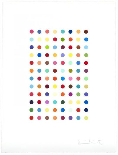 Damien Hirst, 'Xylene Cyanol Dye Solution', 2005