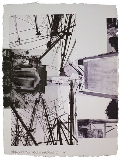 Robert Rauschenberg, 'Rookery Mounds - Steel Arbor', 1979