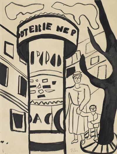 Fernand Léger, 'La Ville (étude)', 1955