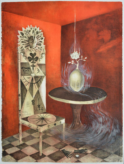 Leonora Carrington, 'The Chair, Daghda tuatha dé dannaan', 2011
