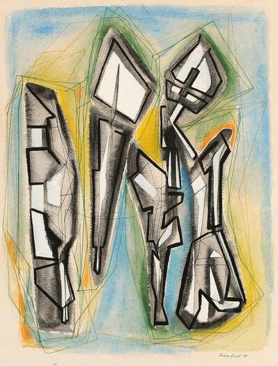 Jimmy Ernst, 'Caligraphics', 1949