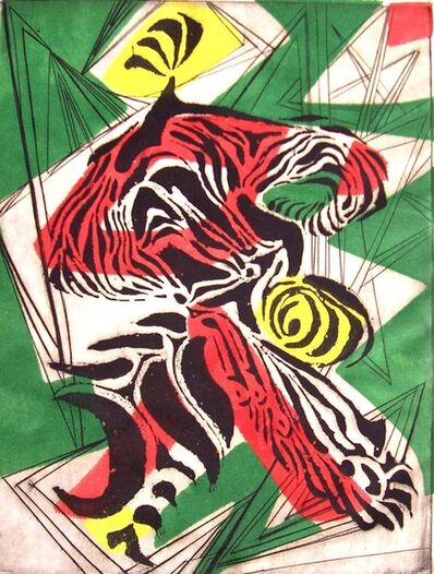Sue Fuller, 'Clown', 1944
