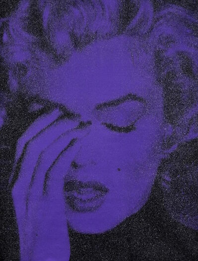 Russell Young, 'Marilyn Crying Violet + Black'