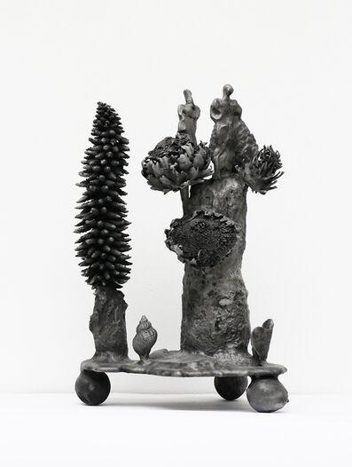 Gunter Damisch, 'Gunera-Artischockentürme', 2013