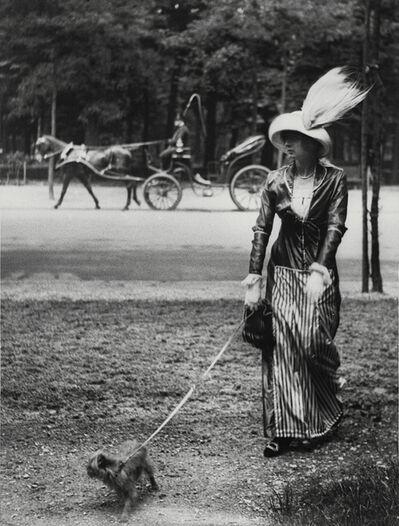 Jacques Henri Lartigue, 'Marie Lancret a well-known demi-mondaine who I found particularly seductive', ca. 1906