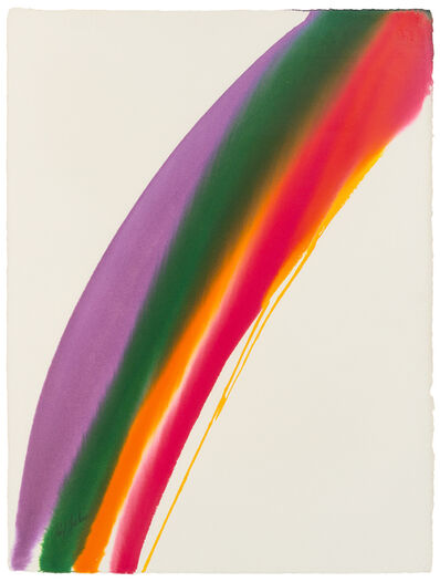 Paul Jenkins, 'Phenomena Violet Hump', 1972