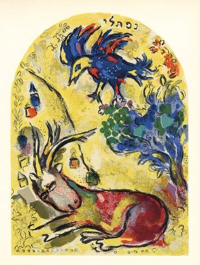 Marc Chagall, 'Jerusalem Windows - Napthali', 1962