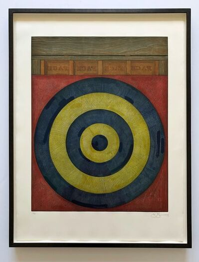 Jasper Johns, 'Target with Four Faces (ULAE 203)', 1979