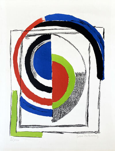 Sonia Delaunay, 'A Jour', 1970