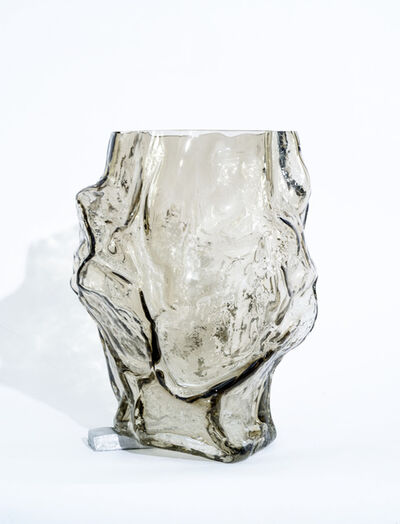 FOS, 'Mountain Vase with Foot - Olive', 2019