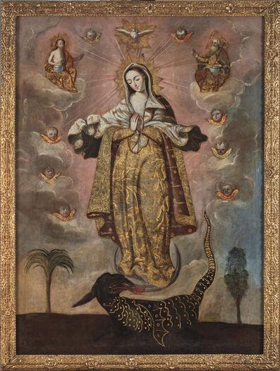 Unknown Ecuadorean, 'Immaculate Conception', 17th century