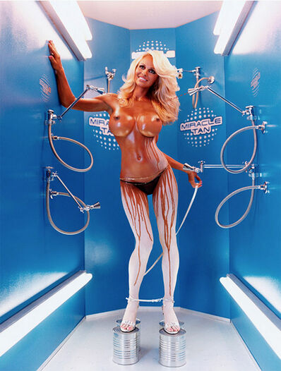 David LaChapelle, 'Pamela Anderson: Miracle Tan', 2004