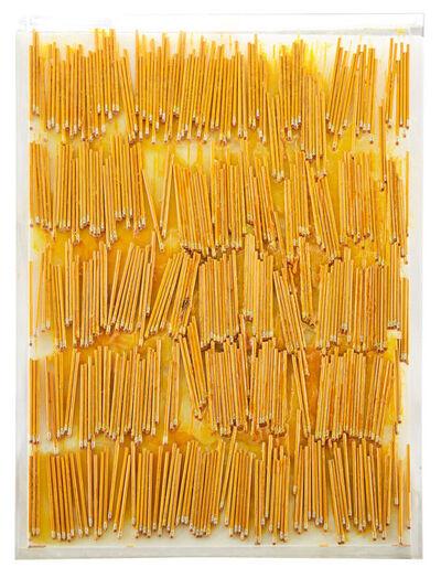 Arman, 'Accumulation Yellow Pencils', 1970