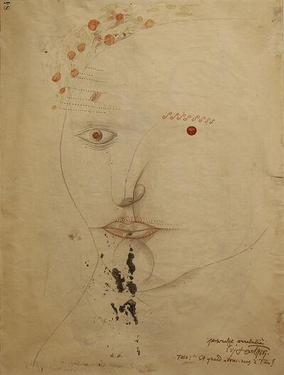 Modest Cuixart, 'Toso. Personatge Arrabalià', 1965