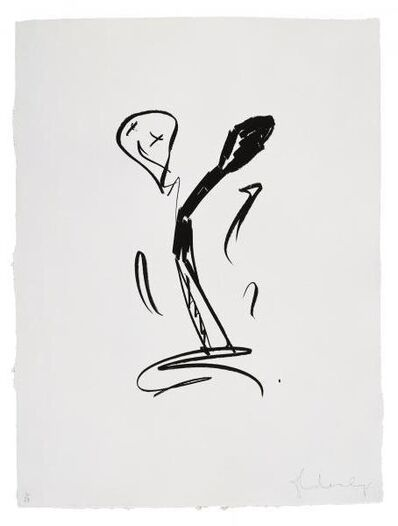 Claes Oldenburg, 'Extinguished Match - First State', 1990