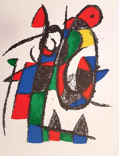 Joan Miró, 'Mirò Lithographe II - Plate II', 1975