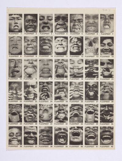 George Maciunas, 'Fluxpost (Smiles)', 1978