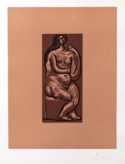 Pablo Picasso, 'Nu assis', 1962