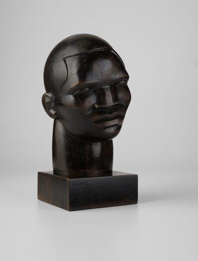 Francisco Narvaez, 'Cabeza de negro', 1935