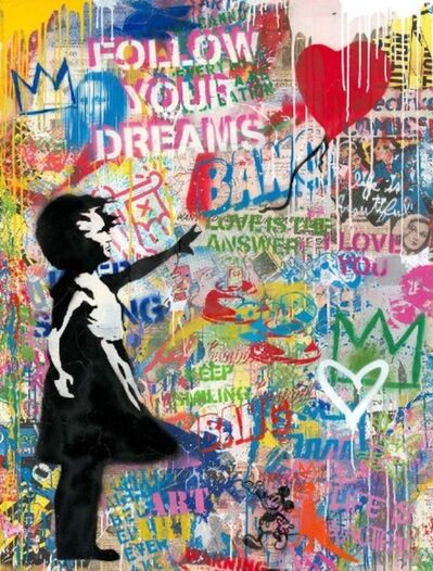 Mr. Brainwash, 'Balloon Girl (Medium)', 2020