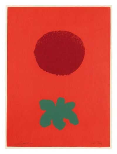 Adolph Gottlieb, 'Red Ground', 1967