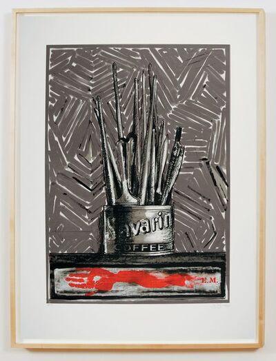 Jasper Johns, 'Savarin EM (ULAE 220) ', 1977-1981