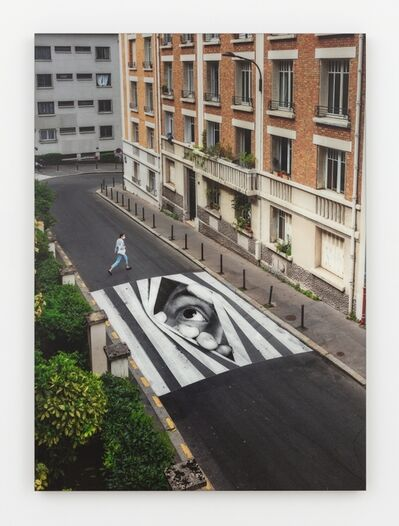 JR, 'Finding Hope, day view, Paris, France, 2020', 2020