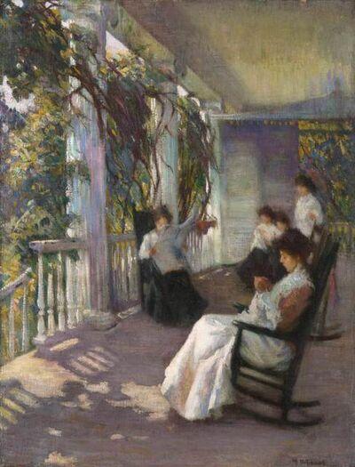 Mary Bradish Titcomb, 'Morning at Boxwood', ca. 1910