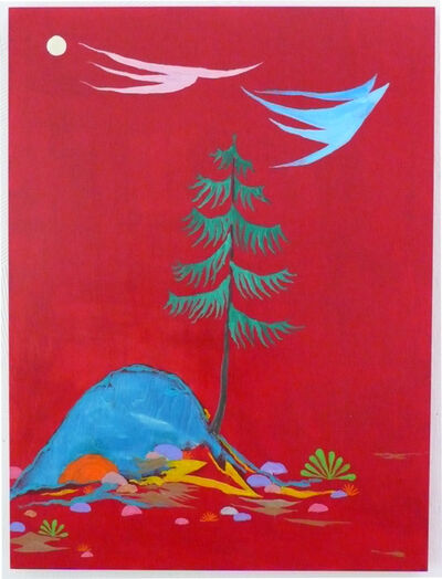 Abel Auer, 'Zwei Vögel wie Volke', 2007