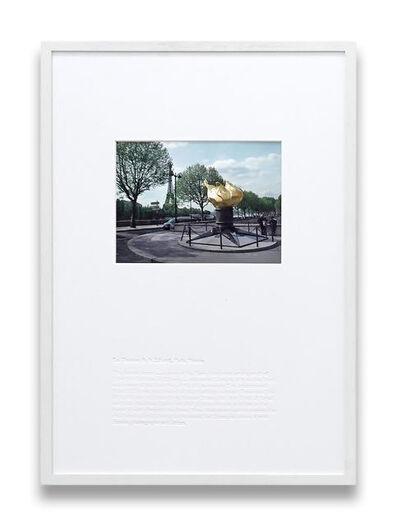Sebastian Utzni, 'Cour des Miracles (La Flamme de la Liberté, Paris, Frankreich)', 2010-2020
