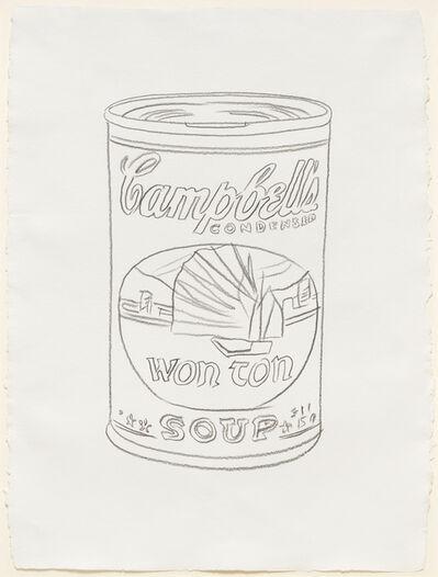 Andy Warhol, 'Campbells Soup Can (Won Ton)', 1985